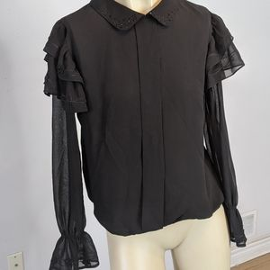 Vintage Guara - black blouse
